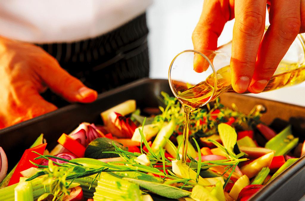 ponty zöldségcsíkokkal